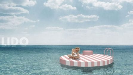 Al mare su isole galleggianti in totale relax e sicurezza