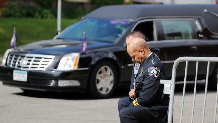Morte George Floyd, l'ultimo saluto a Minneapolis
