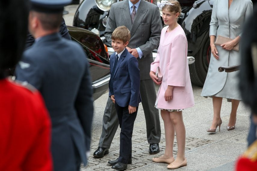 Lady Louise e il fratello James