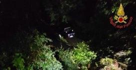 Maltempo, a Bema frana imprigiona automobilista: salvato dai vigili del fuoco