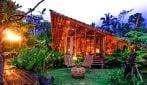 Case di bambù per fare glamping a Bali