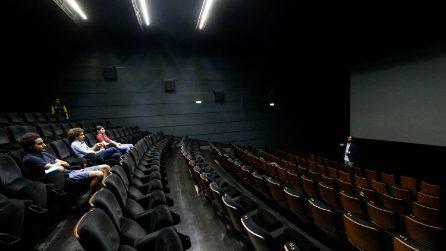 Roma, riaprono i cinema dopo l'emergenza Coronavirus