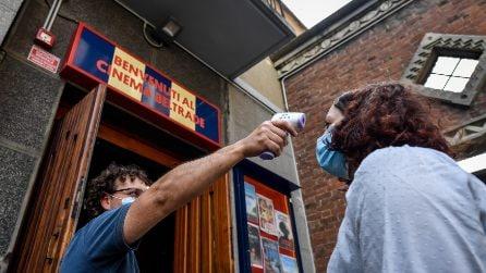 Le foto dei cinema riaperti a Roma e Milano dopo il Coronavirus