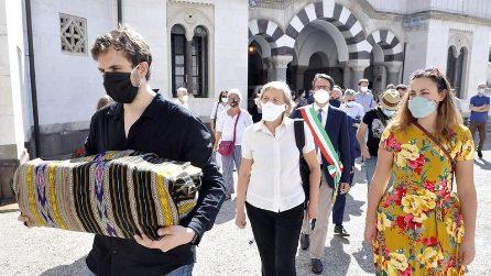 Milano, tumulato al cimitero Monumentale Enzo Baldoni, giornalista ucciso nel 2004 in Iraq