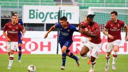 Serie A, le immagini di Milan-Roma