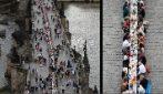 Praga, fine del lockdown: tutti a cena sul Ponte Carlo