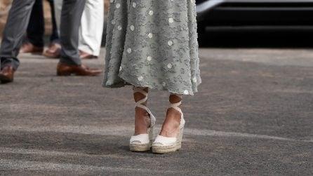 Espadrillas con la zeppa, i modelli per imitare lo stile delle Royals