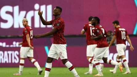 Poker del Milan alla Juventus