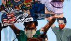 Hollywood, enorme murale Black Lives Matter in onore delle vittime della brutalità della polizia