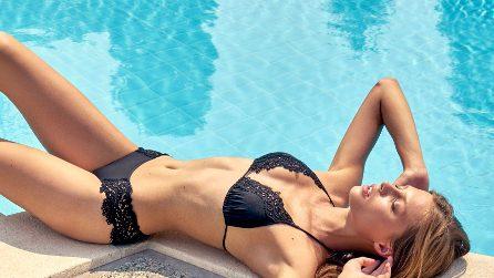 Bikini con dettagli in pizzo per l'estate 2020