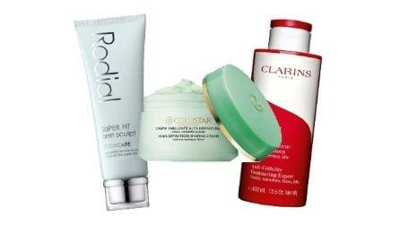 10 cosmetici per contrastare le braccia ad effetto tendina