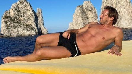 L'estate 2020 di Francesco Totti e Ilary Blasi a Capri