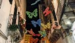 Le farfalle colorate che incantano i visitatori di Martina Franca