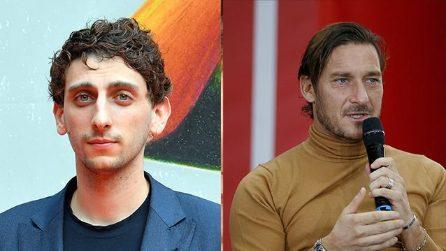 """""""Un capitano"""" - Le foto del cast della serie tv su Francesco Totti"""