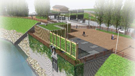 Milano, al via il lavori per la vasca di laminazione del Seveso al Parco Nord
