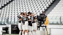 Segnano Cristiano Ronaldo e Immobile. Juve-Lazio 2-1