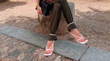 Tendenze estate 2020: le scarpe si allacciano sui pantaloni