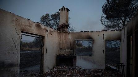 Grecia, vasto incendio boschivo a Corinto: costretti all'evacuazione