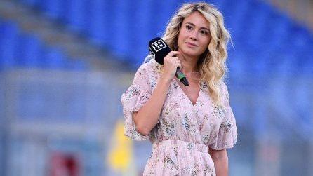 Diletta Leotta, il look romantico è extra lusso