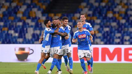 Il Napoli vince 2-0 con il Sassuolo, il VAR annulla 4 gol