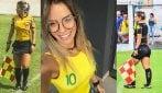 La guardalinee che sembra una modella: Suelen diventa una star su Instagram