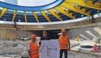Presentata a Torino la maxi cupola da 700 tonnellate che copre la prima rotonda sotterranea d'Italia