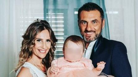 Le foto del battesimo di Bianca, figlia di Sossio Aruta e Ursula Bennardo