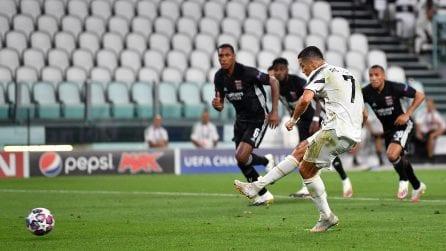 La Juve batte il Lione (2-1), ma è fuori dalla Champions League