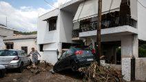 Improvvise inondazioni sull'isola di Eubea, 8 morti in Grecia
