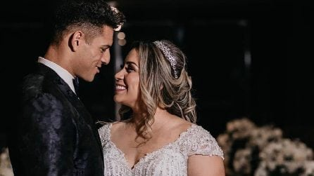 Le foto di Diego Carlos con la moglie Naiara