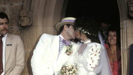 Le foto di Elton John e dell'ex moglie Renate Blauel