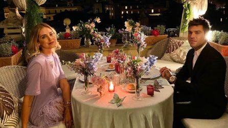 Chiara Ferragni, il look per il secondo anniversario di nozze con Fedez