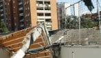 Roma: crolla copertura di una rimessa di bus a Colli Aniene