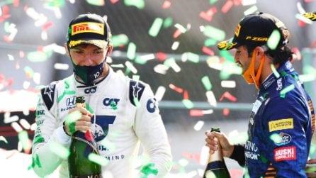 Formula 1, le immagini del Gran Premio di Monza vinto da Gasly