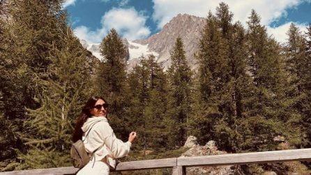 Cecilia Rodriguez in montagna con Ignazio Moser, dopo la crisi sarebbe arrivata la pace