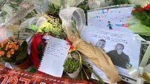 Omicidio Colleferro, mazzi di fiori e bigliettini per Willy Monteiro