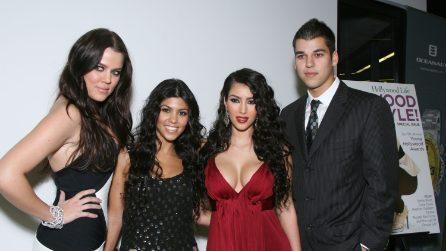 La trasformazione della famiglia Kardashian