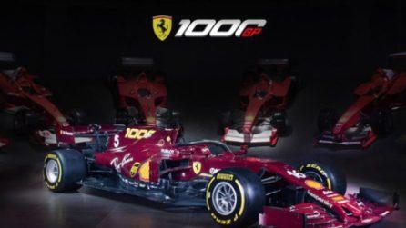 La Ferrari cambia livrea per il 1000° Gp della sua storia