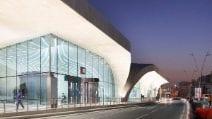 Le stazioni della nuova metropolitana senza conducente di Doha