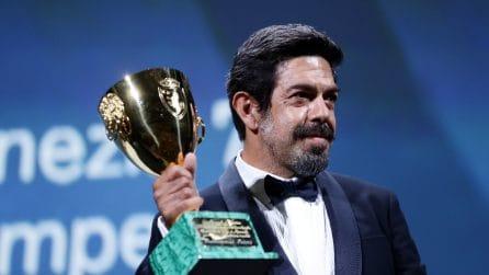 Le foto dei vincitori di Venezia 2020 e della cerimonia di chiusura