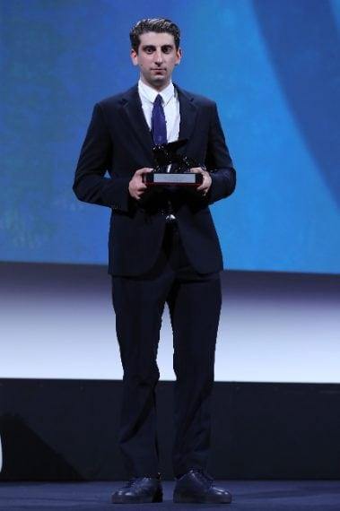 Pietro Castellitto, premio alla miglior sceneggiatura di Orizzonti per I predatori