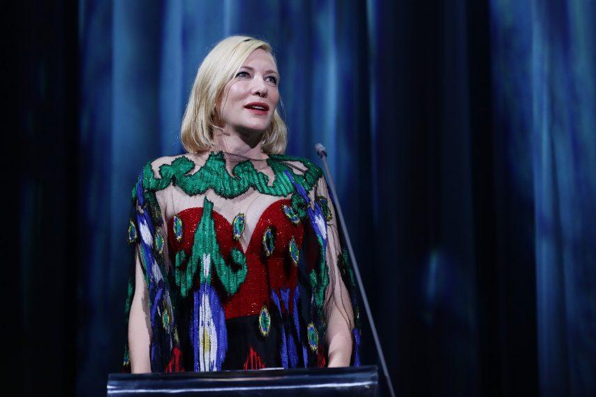 La presidente di giuria Cate Blanchett
