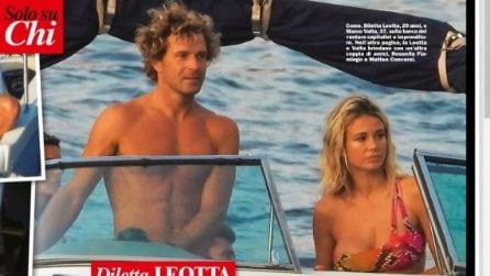 Le foto di Marco Valta in barca con Diletta Leotta