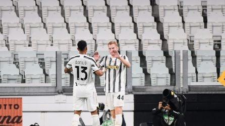 La Juventus inizia vincendo 3-0 con la Sampdoria