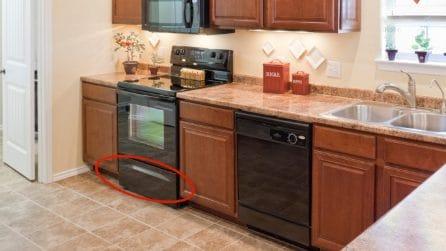 A cosa serve il cassetto presente sotto il forno?