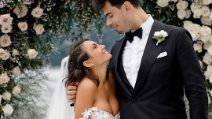 Il matrimonio di Elettra Lamborghini: l'abito da sposa e il look per le nozze
