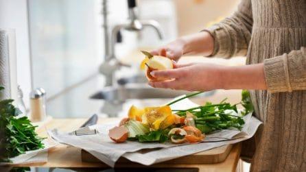 Come riutilizzare gli scarti di cibo