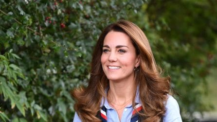 Kate Middleton vestita da boy-scout