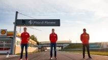 Test sulla Ferrari da F1 a Fiorano per Mick Schumacher, Shwartzman e Ilott della Driver Academy