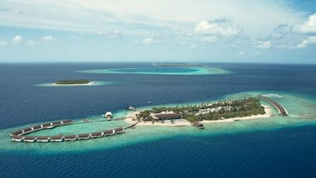 Il resort di lusso con vista sull'Oceano Indiano